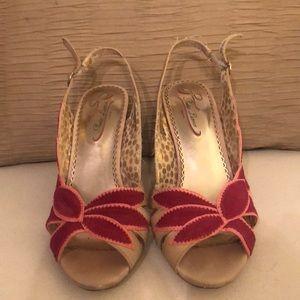 Poetic Licence (London) multicolor heel.